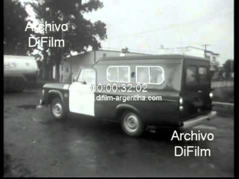 DiFilm  Operativo policial en la Unidad N° 9 de la carcel de Olmos 1973
