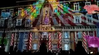Лазерное шоу в Лодзь. Часть вторая. Light Move Festival 2017 Lodz, Poland