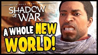 NEW LAND GAVE ME WORMS | Middle Earth: Shadow of War - Desolation Of Mordor Funny Moments Gameplay
