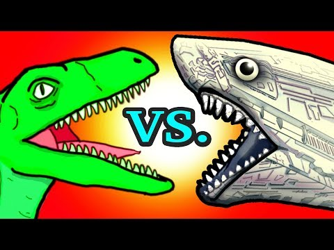 """My Cute Shark Attack Cartoon #10 (Shark vs. Dino IN SPACE!!! +BEST OF!!) kids cartoons!"