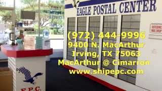 Mailbox Rental, Shipping, Mailing And Post Office Services, 75063, 75062, 75061