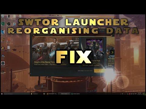 Reorganising Data Fix - SWTOR Patching