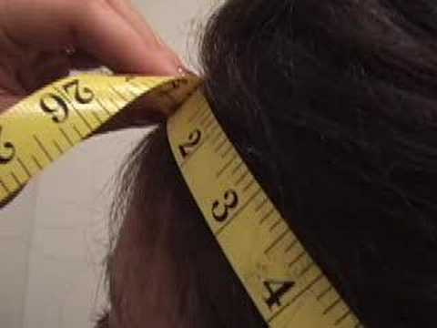 How to Measure your Head Size for a Custom Wig Fitting
