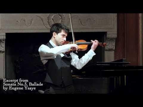 Concert Artists International -CAI Maestro Competition Grand Prize Winner