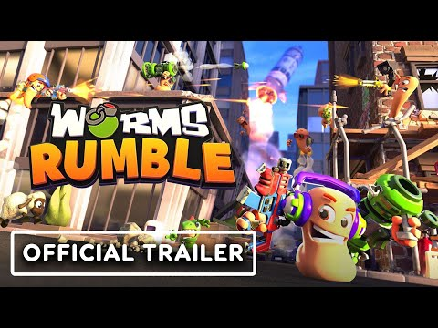Worms Rumble - Official Announcement Trailer