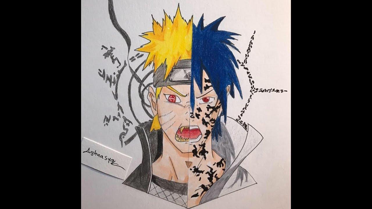Dessin Naruto Et Sasuke