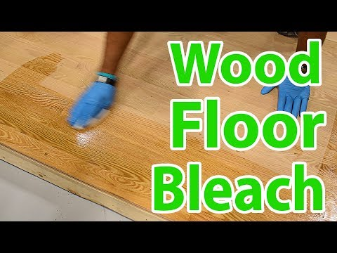 How To Bleach Red Oak Hardwood Floors By Lenny Hall | City Floor Supply