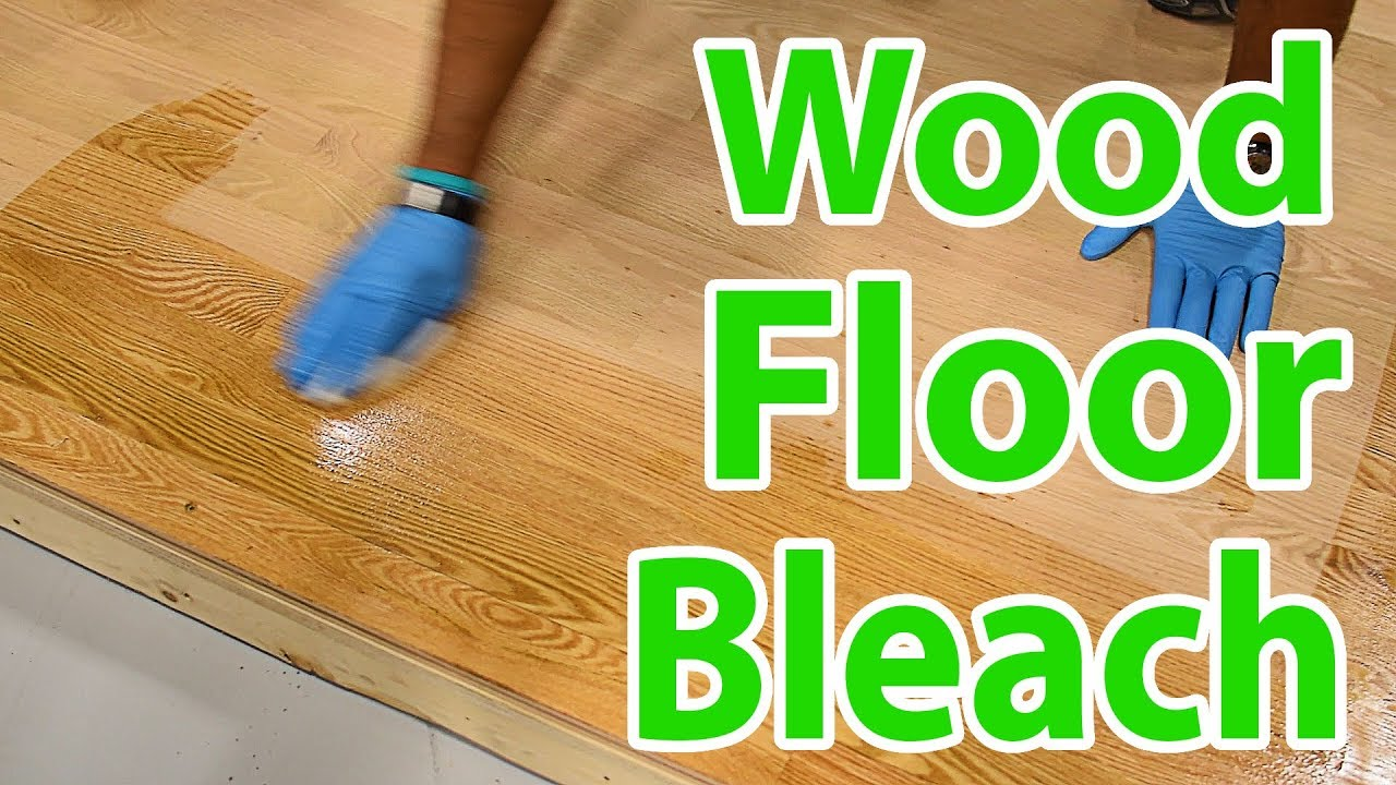 How To Bleach Red Oak Hardwood Floors By Lenny Hall City Floor