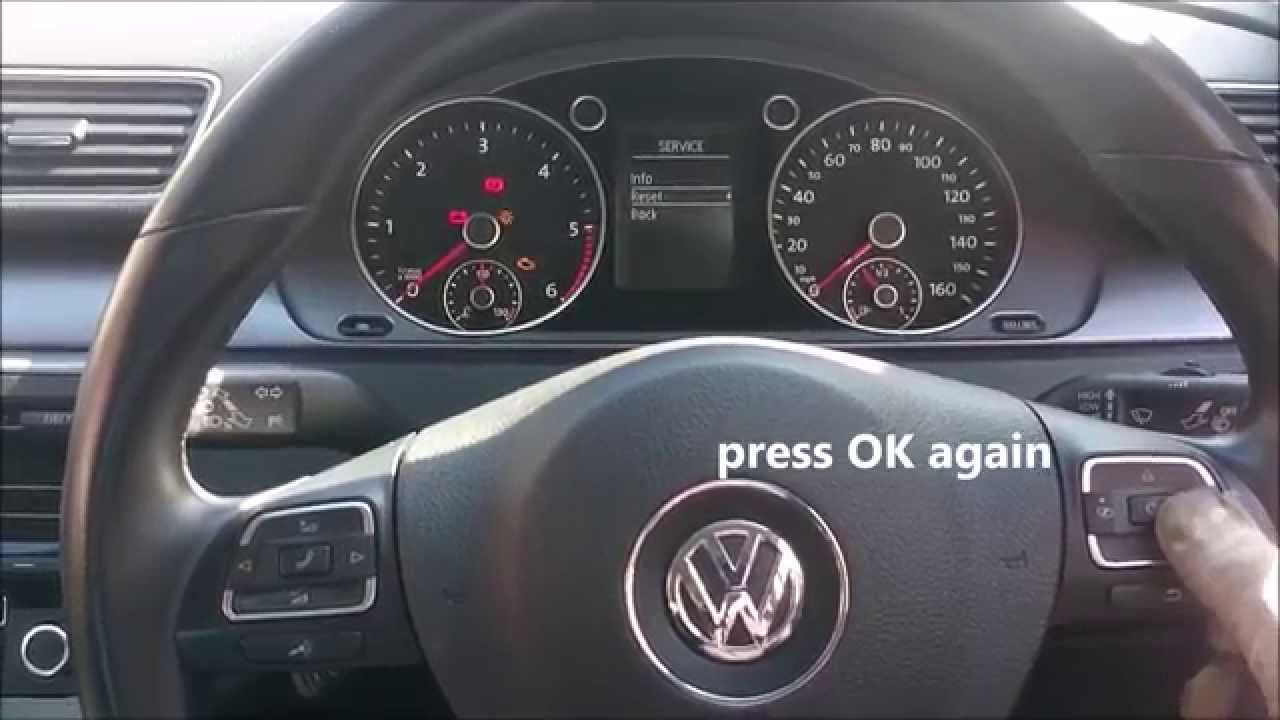 How to reset service light on your Volkswagen Passat ...
