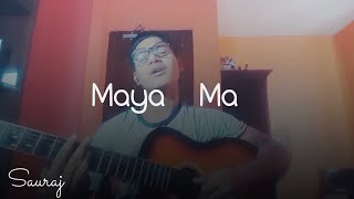 Sushant KC - Maya ma | ACOUSTIC COVER