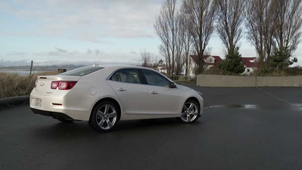 2013 Chevrolet Malibu Turbo LTZ - YouTube