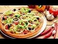 طريقة عمل البيتزا طريقة عمل بيتزا بالخضار فيديو من يوتيوب