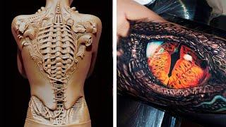 60 невероятных татуировок