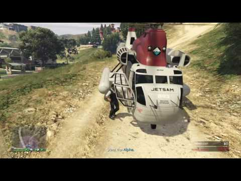 GTA 5 - Import/Export - Source - Movie stunt jump (stealth way) in Richman