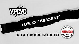 УРСУС - Иди своей колеёй (Live 20.04.2019 | фестиваль НАШИ ЛЮДИ СПБ)