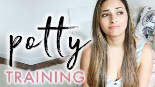 POTTY TRAINING ANXIETY | What No One Tells You About Potty Training | Ysis Lorenna