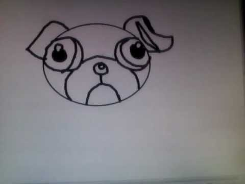 My Cartoon Pug Dog