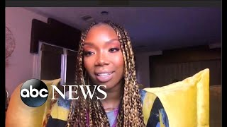 Brandy on emotional new album YouTube Videos