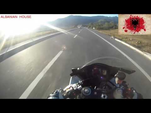 Motorcycling - Autobahn Tirana-Pristine - Albania-Kosovo