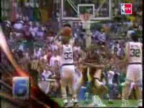 Larry Bird - Top 10 Playoff Moments