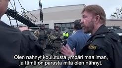 Chuck Norris kouluttaa Unkarin antiterrorismiyksikköä