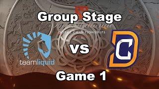 [Game 1] Team Liquid vs Digital Chaos Full Highlights #TI6 Group Stage