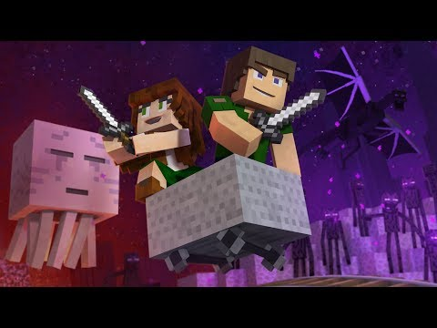 "♪ ""Through The Night"" - A Minecraft Original Music Video / Song ♪"