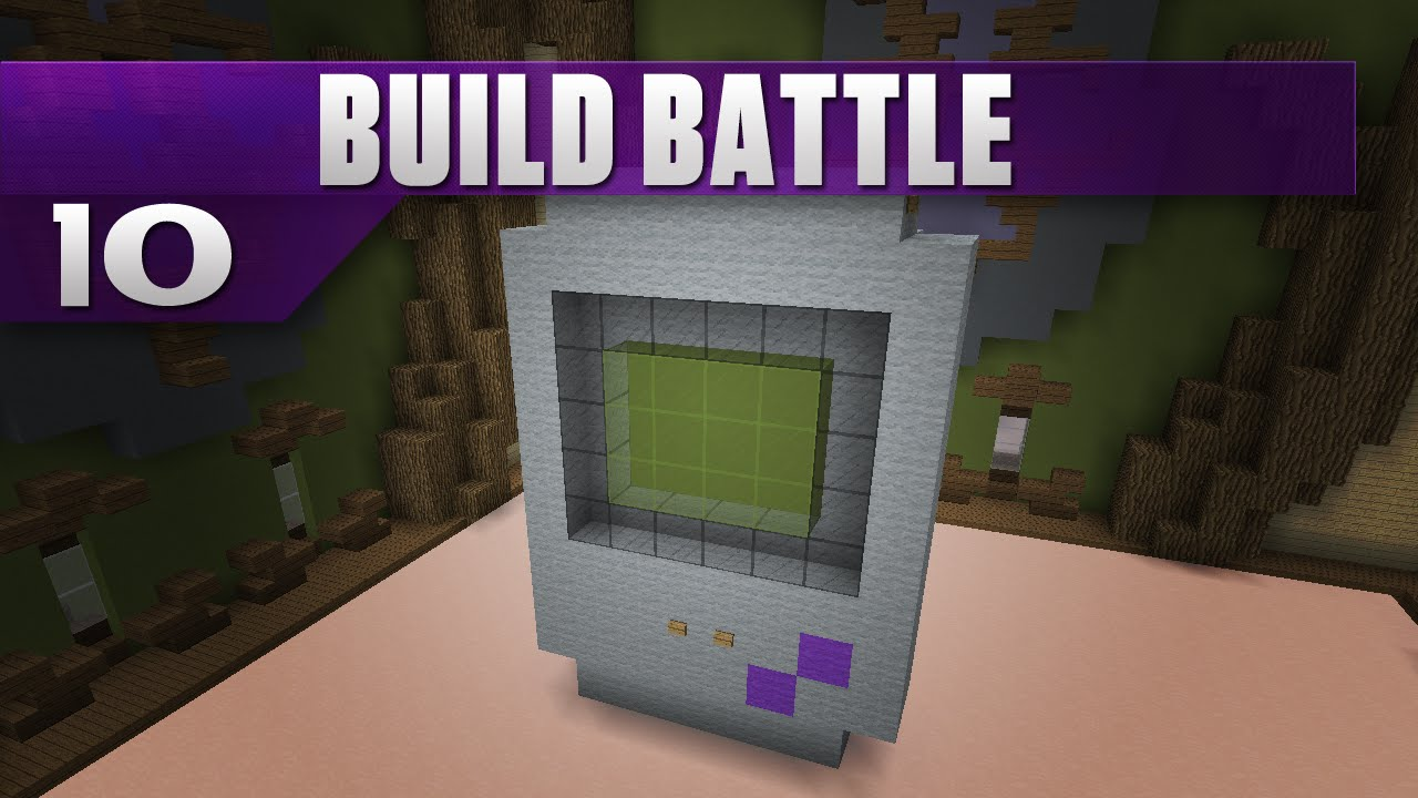 Minecraft Battle Builds Server