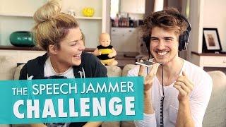 SPEECH JAMMER CHALLENGE w/ JOEY GRACEFFA // Grace Helbig