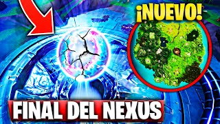 "The Nexus End Exploits and Absorbs the Map ""Secrets Season 10"" Fortnite Battle Royale"