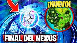 """Le Nexus End exploite et absorbe la carte """"Secrets Saison 10"""" Fortnite Bataille Royale"""