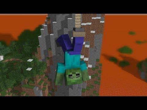 Monster School: Brave Dangerous Bridge - Minecraft Animation