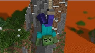 Monster School: Brave Dangerous Bridge - Minecraft Animation