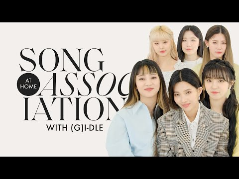 "(G)I - DLE Sings ""Oh my god,"" TWICE, and Jackson Wang in a Game of Song Association 