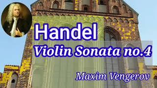 헨델 ㅡ 바이올린 소나타 4번