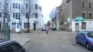 Kugel Bombe in der Stadt