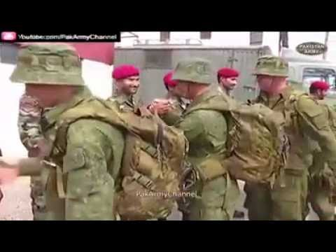 Russian Army joint drills for the first time in Pakistan, with Pakistan Army