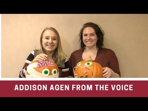 Getting to know Addison Agen from The Voice! | 97.3WMEE Fort Wayne, Indiana | Renee Cummings