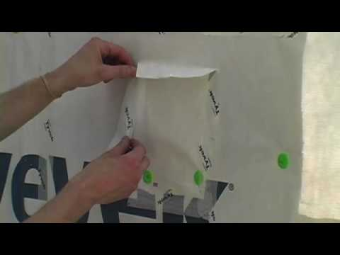 Installing Housewrap Right: Taping Seams and Holes