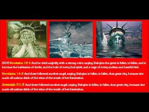 Babylon The Great Is Fallen, Is Fallen, & Will Rise No More. Revelation 18 Is It America?
