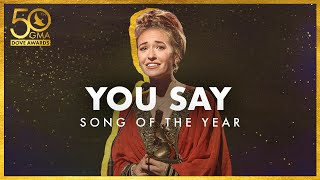 """""""You Say"""" Wins Song of the Year"""