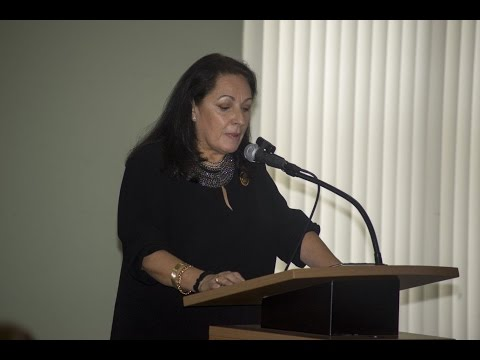 Carmen Valdivia - Desayuno Martiano 2016 - Operation Pedro Pan Group