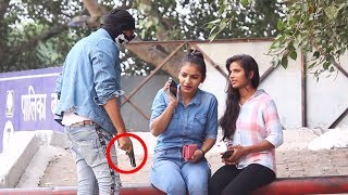 Fake Gun Prank || Prank Gone Wrong || Prank In India || Khujli Baba