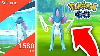 WORLDS FIRST SUICUNE RAID! (LEGENDARY DOGS IN POKEMON GO)