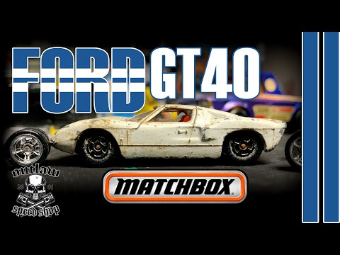 CUSTOM DIECAST | MATCHBOX FORD GT40