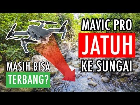 DJI Mavic Pro Jatuh Ke Sungai, Masihkah Bisa Terbang?!