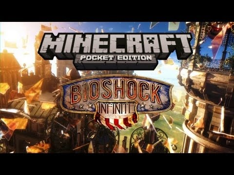 Minecraft PE Bioshock Infinite [TECHN0B]