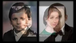 папины дочки в детстве и сейчас!!