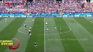 México VS Alemania TV Azteca 2018