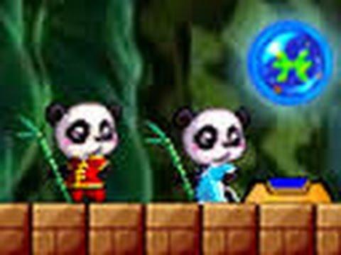Игры на двоих Две китайские панды Огонь и Вода Igra